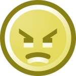 grumpy, angry, mad