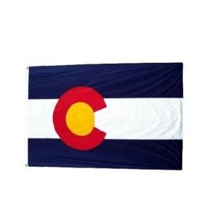 Colorado Flag, Colorado, Aurora