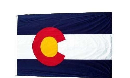 Colorado Flag, Colorado, Aurora