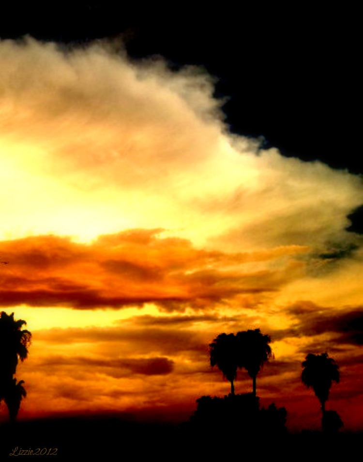 desert sky, peace, let it be