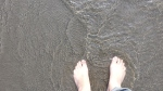 feet in the water, fungus free feet